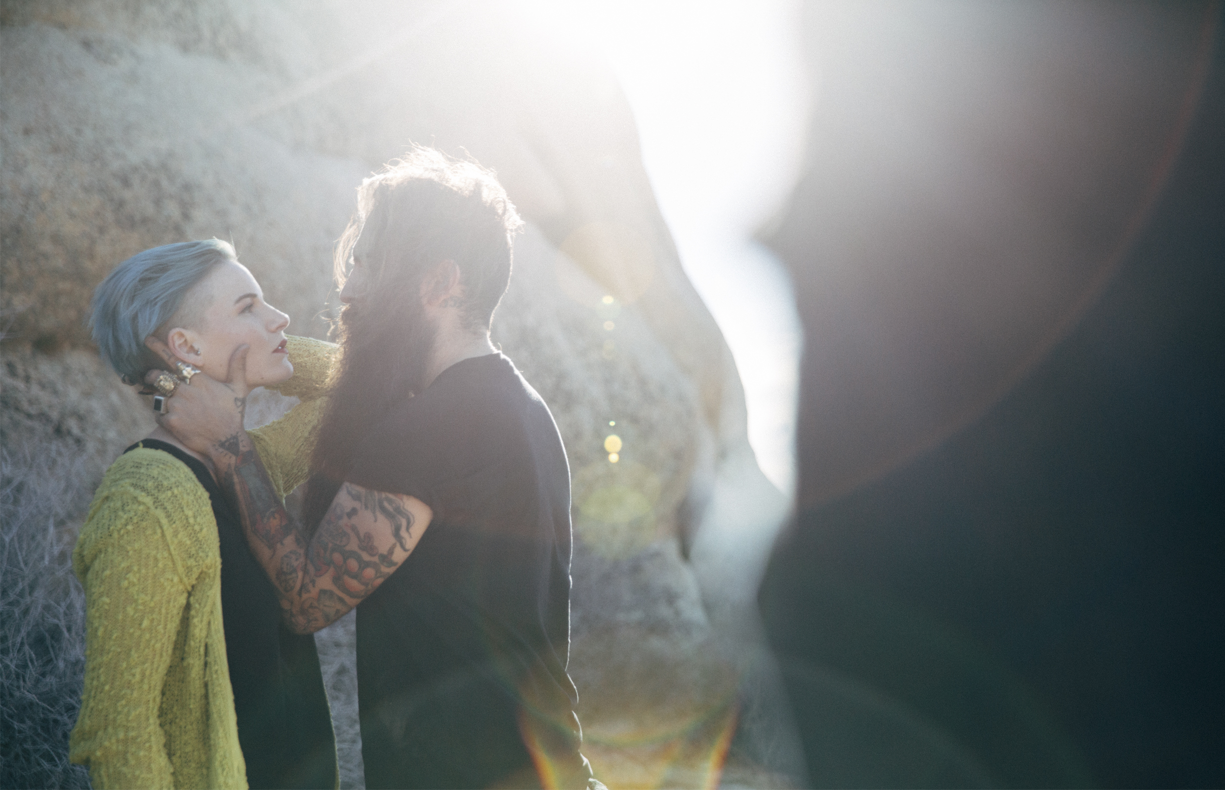 Marina Nieto Photography Artistic Engagement Couple California Palm Spring 9
